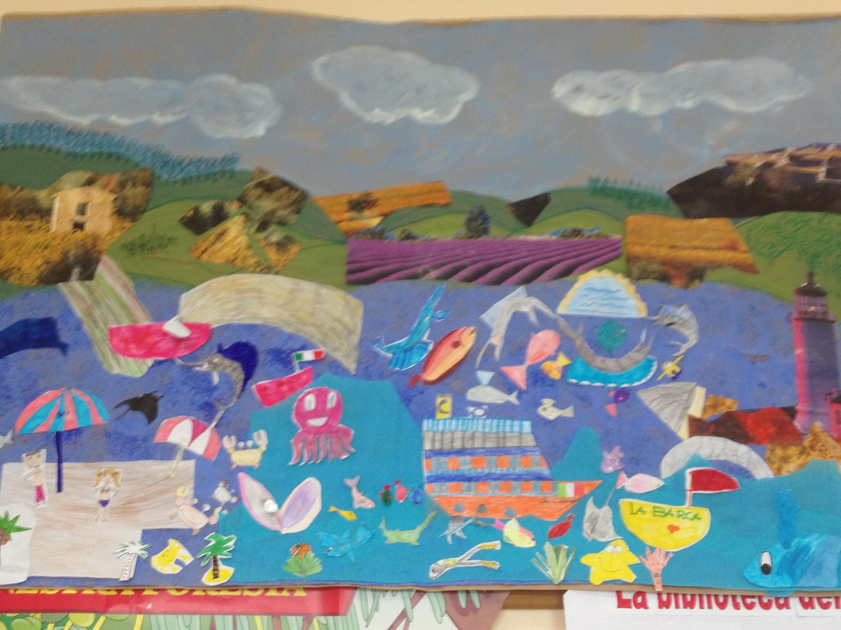 Cartellone sul mare labadec for Cartelloni scuola infanzia
