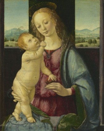 Leonardo-da-Vinci-Madonna-col-Bambino-Madonna-della-melagrana-o-Madonna-Dreyfus-1469-1470-circa-Washington-D.C.-National-Gallery-of Art-Samuel-H.-Kress-Collection-480x604